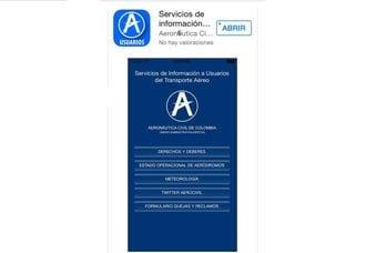 Aerocivil pone a disposición nueva aplicación móvil para los viajeros