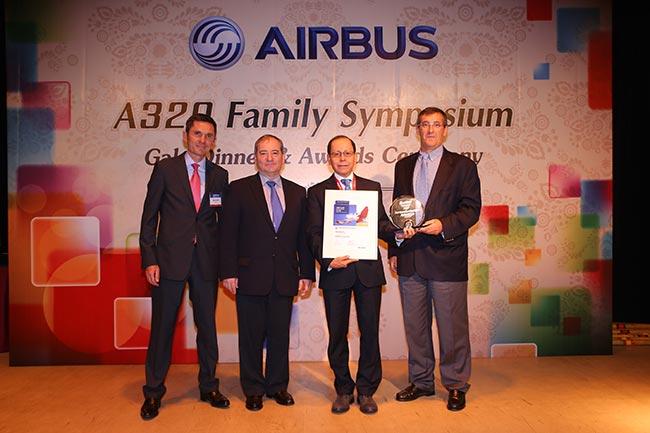 Avianca gana Premio Excelencia Operacional Airbus A320 de Airbus   Aviacol.net El Portal de la Aviación Colombiana