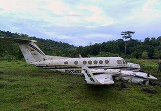 Avión King Air de la Policía se accidentó en Bahía Solano   Aviacol.net El Portal de la Aviación Colombiana