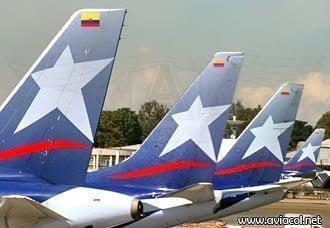 LAN transportó más de 1 millón de pasajeros en Colombia | Aviacol.net El Portal de la Aviación en Colombia