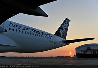 El A350 XWB inicia la última fase de certificación | Aviacol.net El Portal de la Aviación en Colombia
