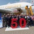 Emirates recibe su Airbus A380 número 50 | Aviacol.net El Portal de la Aviación Colombiana