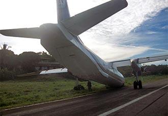 Avión Antonov 26 sufrió incidente en Otú, Antioquia   Aviacol.net El Portal de la Aviación Colombiana