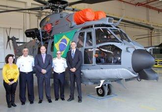 Airbus Helicopters entrega el primer EC725 fabricado en Brasil | Aviacol.net El Portal de la Aviación Colombiana