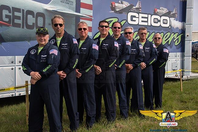 Volando con los GEICO Skytypers | Aviacol.net El Portal de la Aviación en Colombia