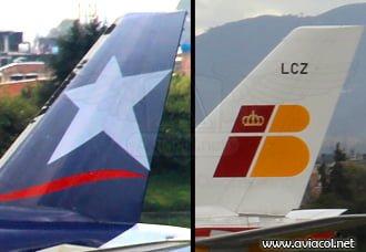 Iberia y LAN Colombia firman código compartido | Aviacol.net El Portal de la Aviación Colombiana