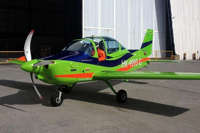 Primer vuelo del Mylius MY-103 Mistral II, proyecto colombiano   Aviacol.net El Portal de la Aviación en Colombia