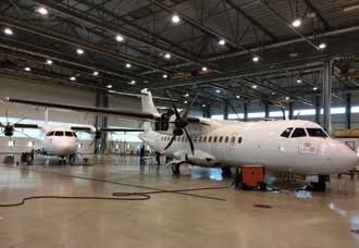Se preparan los dos primeros ATR-42 para Easyfly   Aviacol.net El Portal de la Aviación en Colombia y el Mundo