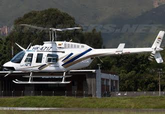 Helicóptero Bell 206 aterriza de emergencia en Palonegro por ataque con arma de fuego | Aviacol.net El Portal de la Aviación en Colombia y el Mundo