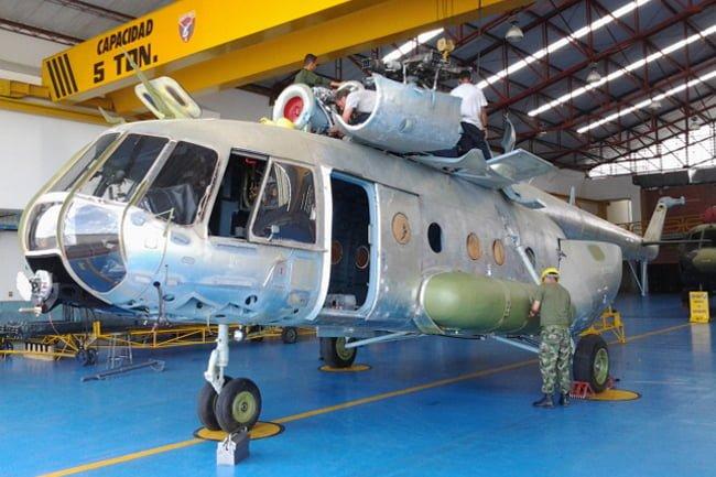 Segundo overhaul en Colombia a helicóptero MI-17 de la Aviación del Ejército | Aviacol.net El Portal de la Aviación en Colombia y el Mundo