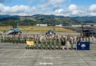 """Comienza en Rionegro ejercicio """"Relámpago"""" entre aviones de combate de Fuerza Aérea Colombiana y Fuerza Aérea de los Estados Unidos   Aviacol.net El Portal de la Aviación en Colombia y el Mundo"""