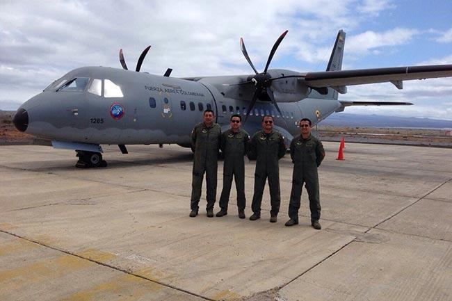 La Fuerza Aérea Colombiana llegó por primera vez a las Islas Galápagos   Aviacol.net El Portal de la Aviación en Colombia y el Mundo