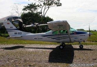 Avión Cessna 182 se accidenta en cercanías a Mitú | Aviacol.net El Portal de la Aviación en Colombia y el Mundo