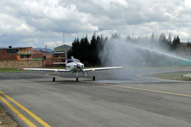 Entrega del último avión T-90C Calima | Aviacol.net El Portal de la Aviación en Colombia y el Mundo