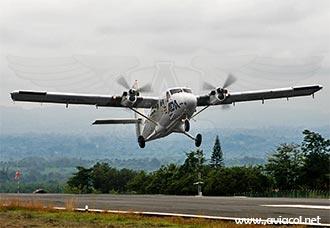 El de Havilland Canada DHC-6 Twin Otter en Colombia | Aviacol.net El Portal de la Aviación en Colombia y el Mundo