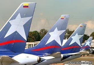 LAN Colombia se mantuvo como la aerolínea más puntual del país   Aviacol.net El Portal de la Aviación en Colombia y el Mundo