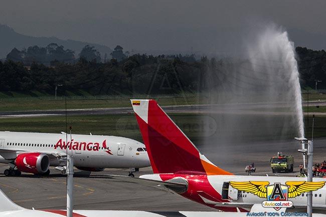 Llega a Colombia el primer Boeing 787 de Avianca | Aviacol.net El Portal de la Aviación en Colombia y el Mundo