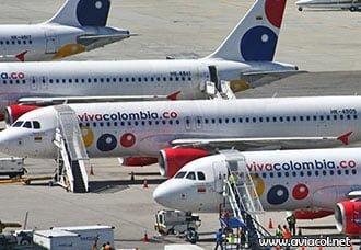VivaColombia incrementa frecuencias y espera más aviones | Aviacol.net El Portal de la Aviación