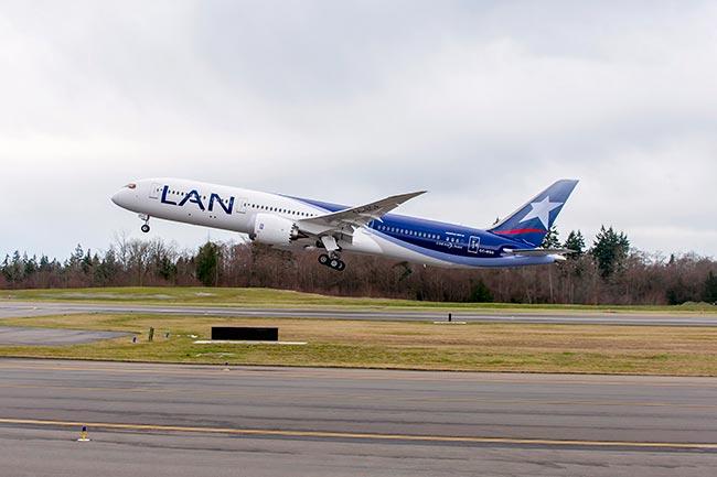 Boeing y Grupo LATAM Airlines celebran entrega de primer 787-9 | Aviacol.net El Portal de la Aviación