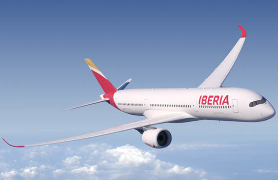 Airbus A350 XWB se incorpora a la flota de Iberia | Aviacol.net El Portal de la Aviación