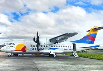 Satena inicia renovación de flota con cuatro nuevos aviones en 2015 | Aviacol.net El Portal de la Aviación
