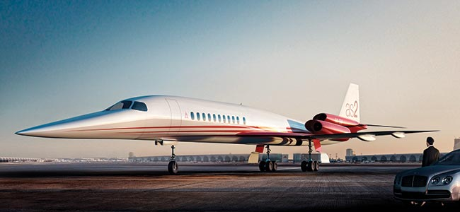 Avión ejecutivo supersónico ¿El siguiente paso lógico? | Aviacol.net El Portal de la Aviación