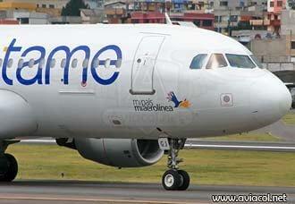 Aerolínea Tame recibe certificación de seguridad / Aviacol.net El Portal de la Aviación
