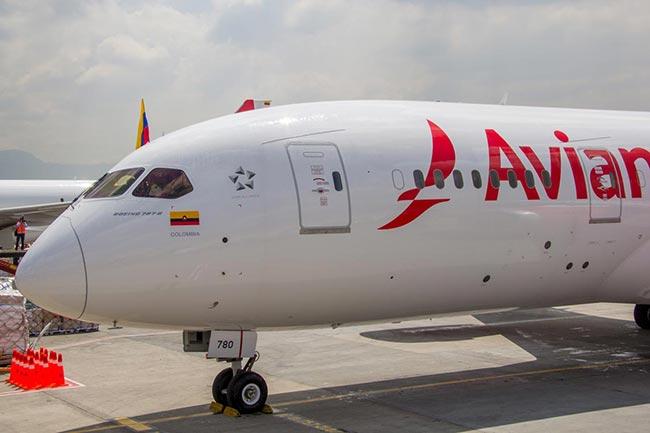 Avianca tendrá vuelos entre Bogotá y Los Ángeles / Aviacol.net El Portal de la Aviación