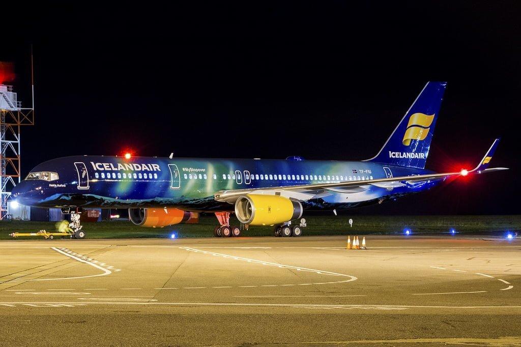 Boeing 757 Icelandair