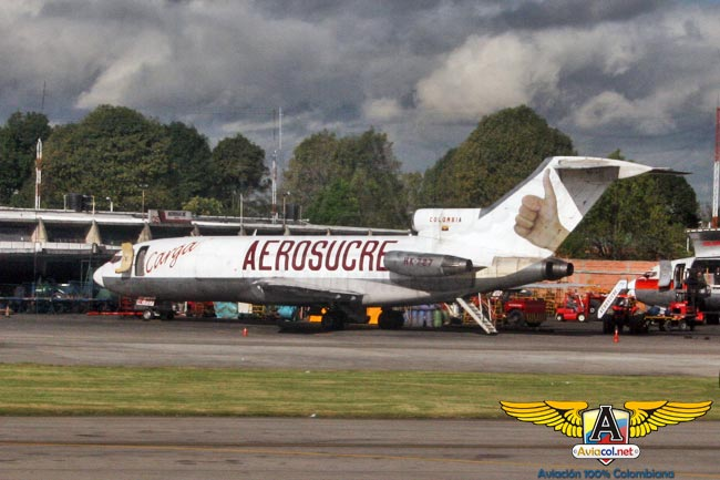 El primer Boeing 727 que llegó a Colombia, aterriza por última vez en el Museo Aéreo Fénix | Aviacol.net El Portal de la Aviación