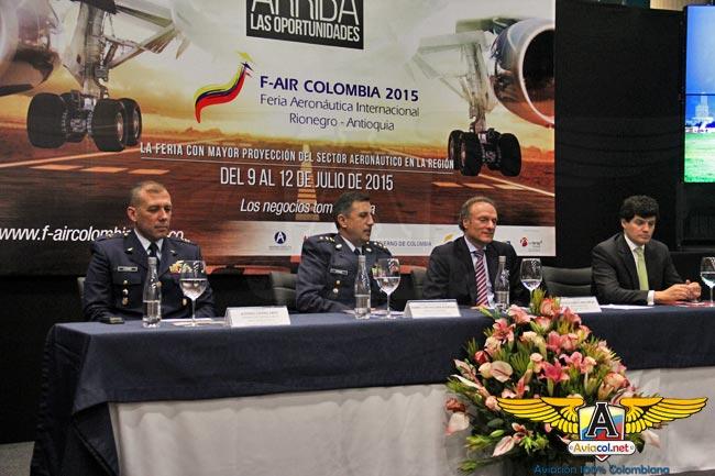 Presentada oficialmente la F-air 2015 | Aviacol.net El Portal de la Aviación