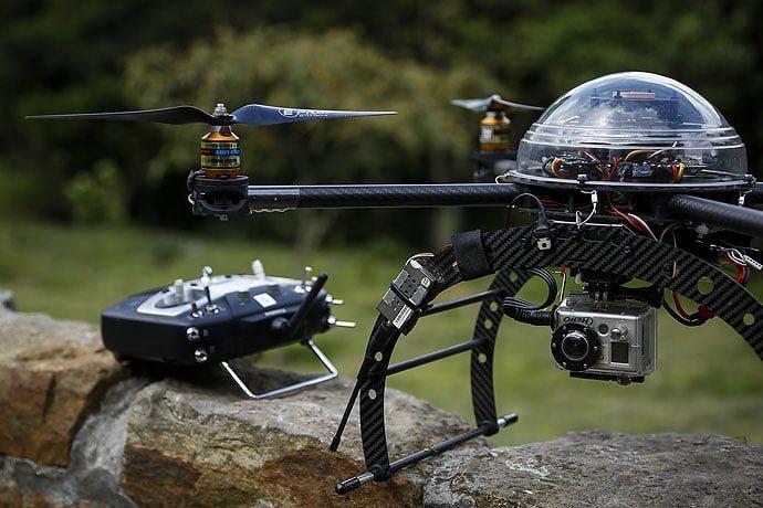 Policía Nacional de Colombia estrena 25 drones aéreos que serán utilizados para resguardar la seguridad del país en esta Semana Santa / Aviacol.net El Portal de la Aviación