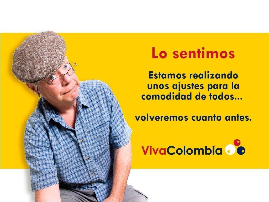 VivaColombia informá estar trabajando en fallas de sistema de su portal web | Aviacol.net El Portal de la Aviación