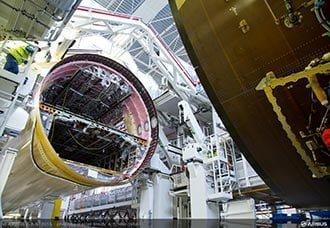 Primer A350 XWB de las Américas ingresa a la línea final de ensamble   Aviacol.net El Portal de la Aviación