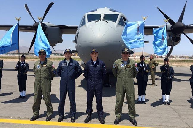 Fuerza Aérea Peruana recibe primer C-27J Spartan