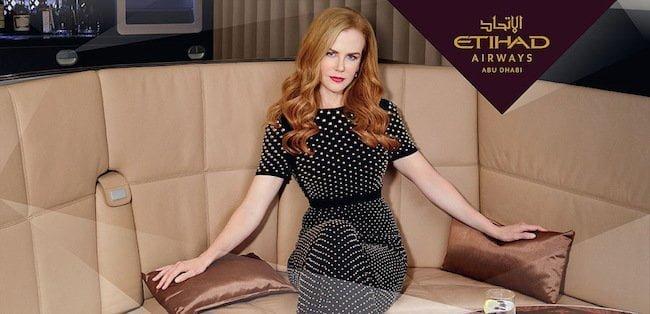 Nicole Kidman embajadora de lujo de emiratí Etihad Airways | Aviacol.net El Portal de la Aviación