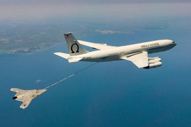 El Drone X-47B se abastece de combustible en pleno vuelo   Aviacol.net El Portal de la Aviación