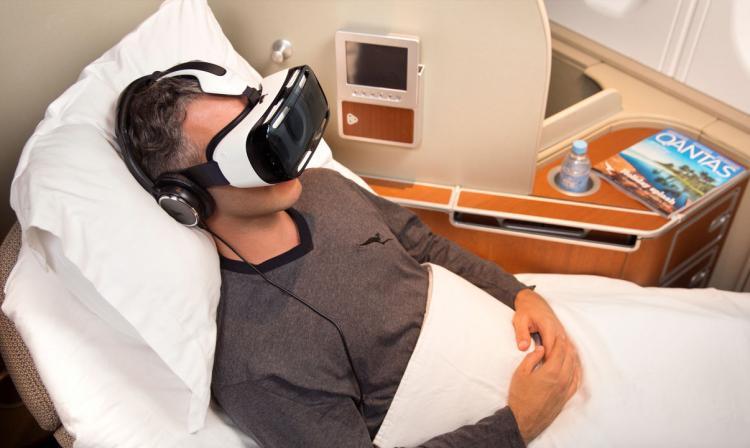 Aerolínea Qantas ofrecerá lentes que incluyen vídeos en tres dimensiones para sus pasajeros en vuelos largos | Aviacol.net El Porta de la Aviación