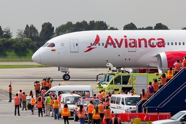 Boeing 787 Dreamliner Avianca 2
