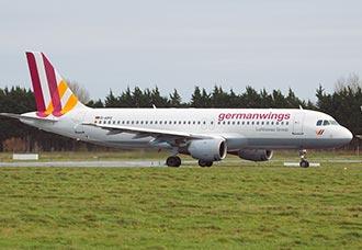 Avión Airbus 320 de Germanwings