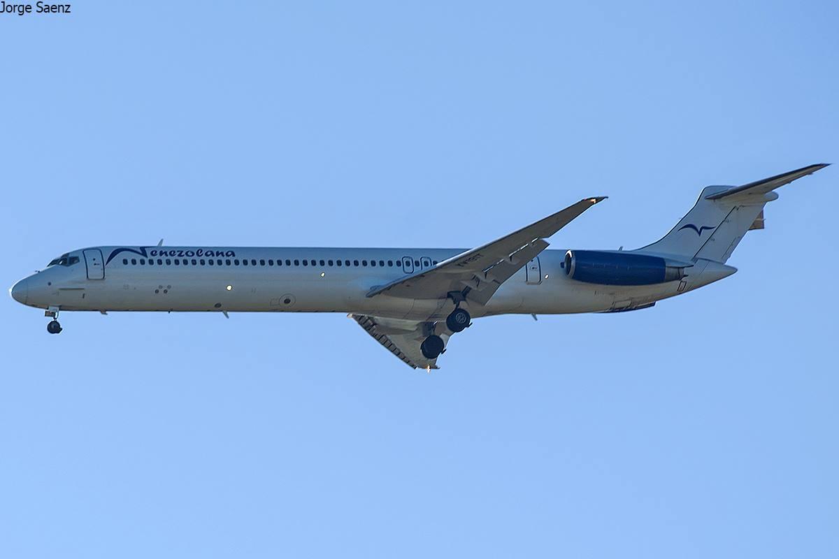 MD-82 de Venezolana de Aviación
