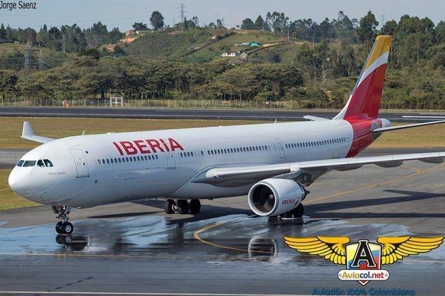 Primer vuelo de Iberia a Medellín