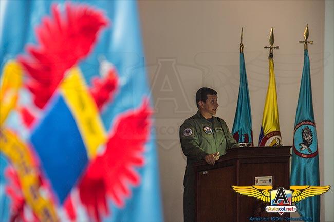 Mayor General del Aire Carlos Eduardo Bueno, en Ángel de los Andes 2015