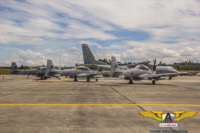 Aviones en Ángel de los Andes 2015