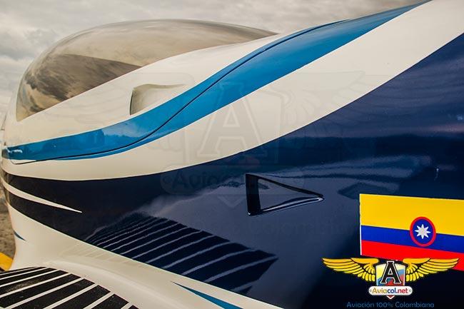 Nuevas entradas de aire para la cabina en el CIAC T-90D Calima