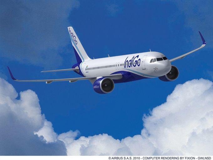 Prototipo de un A320neo de IndiGO