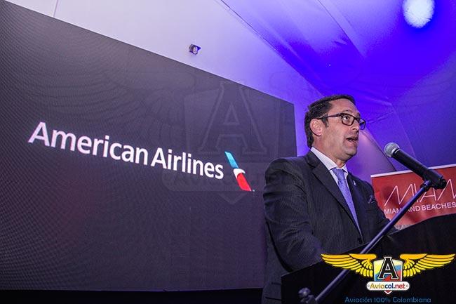 José María Giraldo, Gerente de American Airlines para Colombia