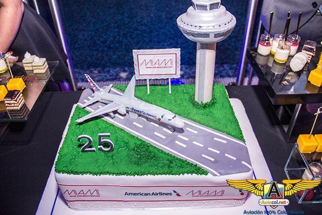 Aniversario número 25 de American Airlines en Colombia