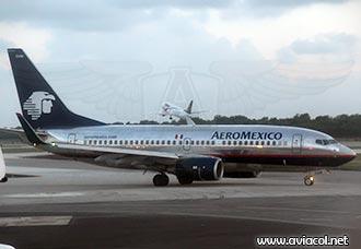 Boeing 737 de Aeroméxico