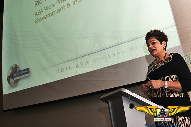 Debra McFarland, Vicepresidente Ejecutiva de la AEA